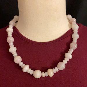 Jay King Rose Quartz Necklace